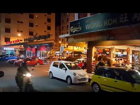 Streets of Kota Kinabalu, Borneo