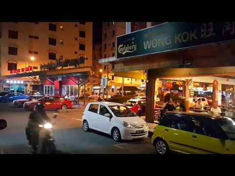 Streets of Lahad Datu, Borneo