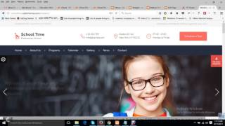 School Time - Modern Education WordPress Theme Installation & Customization
