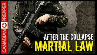 After the Collapse: Martial Law & Phases of SHTF