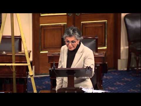 Senator Boxer's Floor Statement Against Keystone XL
