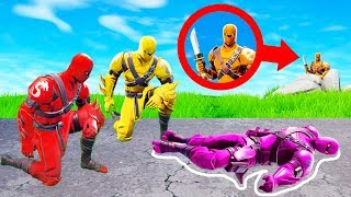Fortnite MURDER MYSTERY Challenge! (Fortnite Creative)