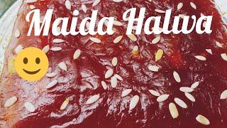 Maida Halwa - with Homemade Maida| Kozhikode Halwa Style | Chewy Halwa in 20 min.