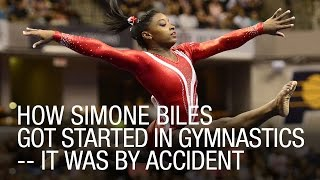 How Simone Biles Got Started In Gymnastics -- It Was By Accident