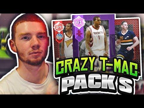 CRAZY SWINGMEN PACK OPENING! AMETHYST TRACY MCGRADY!! (NBA 2K18 MYTEAM)