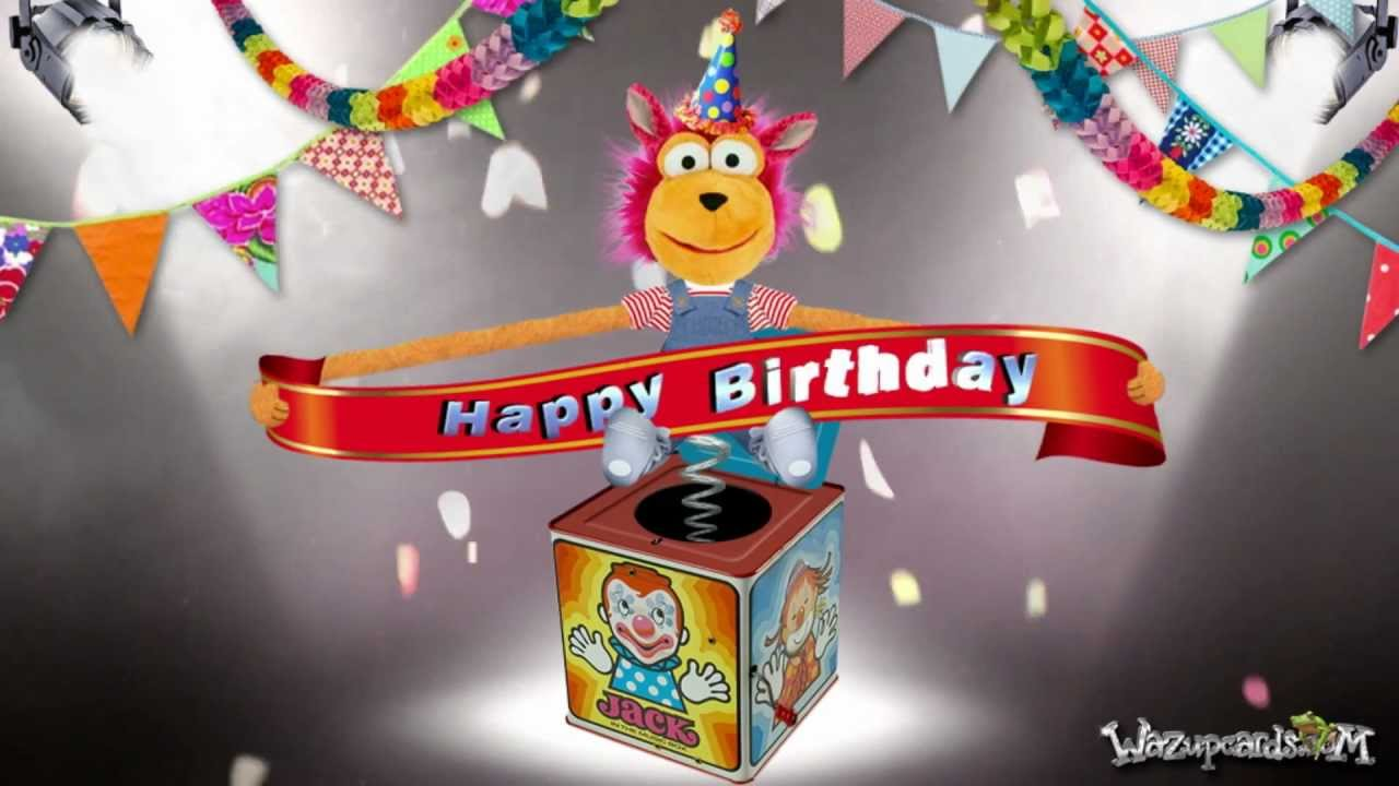 Happy Birthday Jack In The Box Youtube