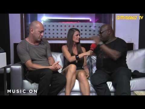 Interview Marco Carola & Carl Cox @ AmnesiaTV 2013