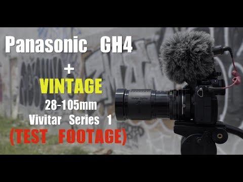 Lens Test #8 - Panasonic GH4 + Vintage Vivitar 28-105mm Series 1 Lens Test Footage