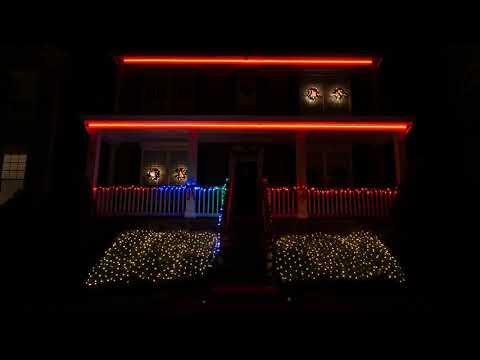 2017 Jensen Family Christmas Light Show