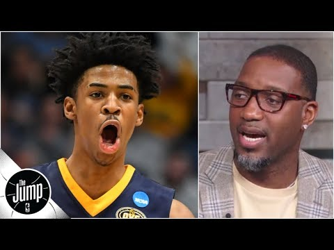 Ja Morant 'is No. 2, I don't care what nobody says' - Tracy McGrady | The Jump