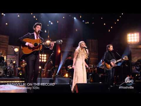 Jonathan Jackson, Clare Bowen and Sam Palladio Sing