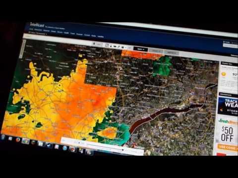 Real Life Storms CRAZY Tornadic Storm Strikes! (6/23/15)