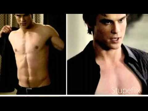 Damon Salvatore Shirt Off Sexy And I Know It Youtube