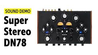 Super Stereo DN78 Sound Demo (no talking)