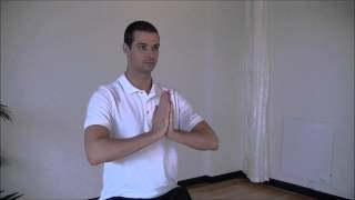 Kamloops Osteopathy - Wrist Flexor Prayer Stretch