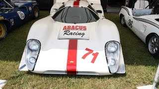1968 Lola T70 (Racing Car)  By Paul's Custom Interiors/ Auto Upholstery