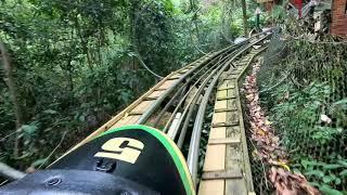 Jamaica Bobsled Coaster - Full Ride POV