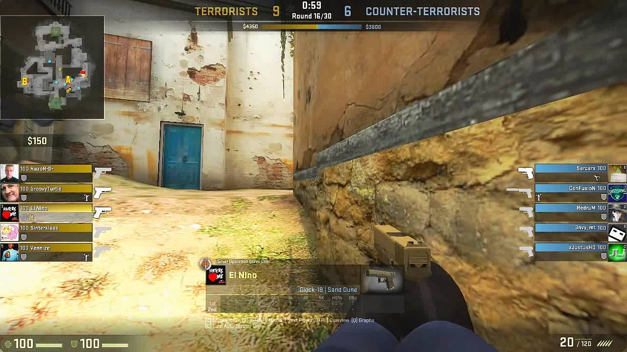 csgo how to add more rounds