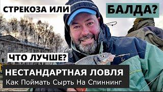 Вимба сырть или рыбец Ловля на балду и стрекозу Нестандартная рыбалка