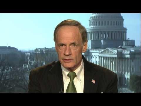 Sen. Tom Carper Reacts to President Obama
