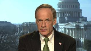 Sen. Tom Carper Reacts to President Obama