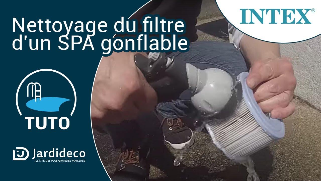 Nettoyer Filtre Spa Vinaigre Blanc nettoyer le filtre d'un spa gonflable