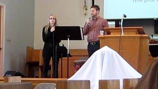 """How Great Thou Art"" by Carrie Underwood-covered by Lisa Storch & Jon Musser"