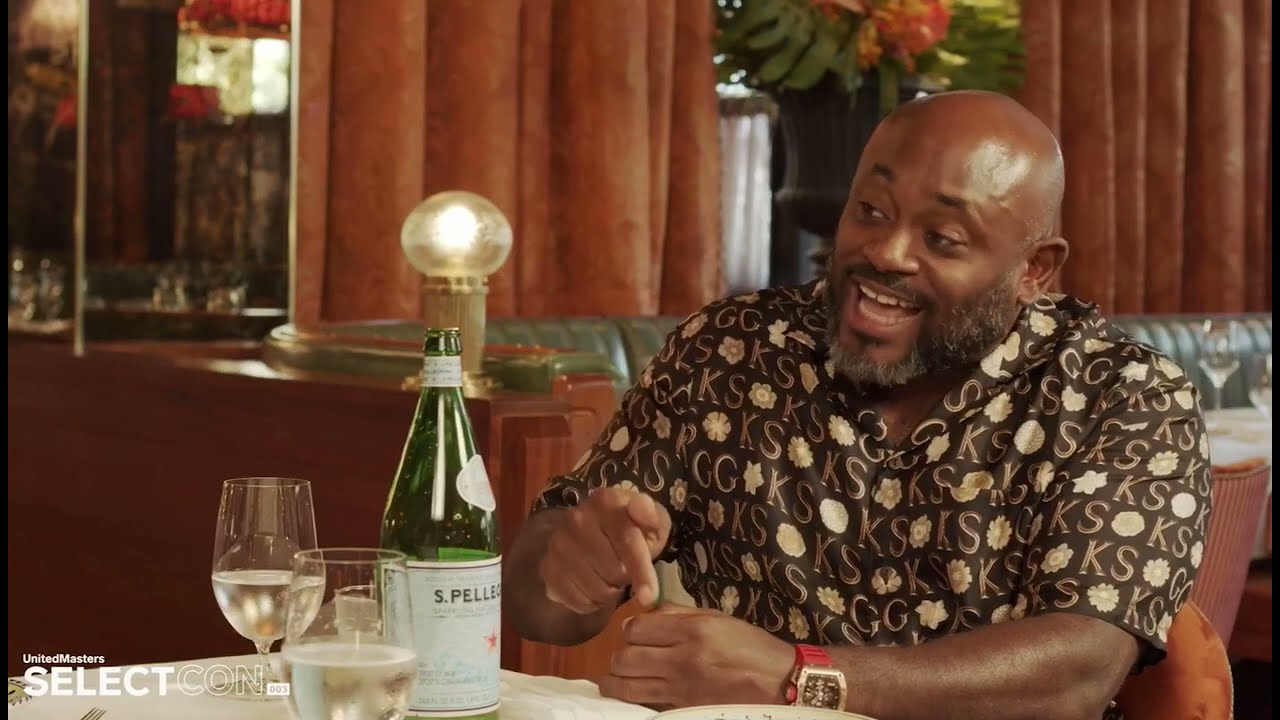STEVE STOUTE GIVES TOBE NWIGWE FREE GAME ABOUT THE MUSIC INDUSTRY