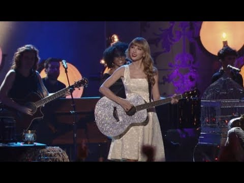 Taylor swift live - mean  # 2012 Storytellers