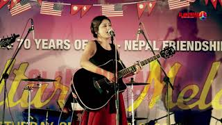syndicate || Nepal Idol Sandhya Joshi Live performance with Canary Band
