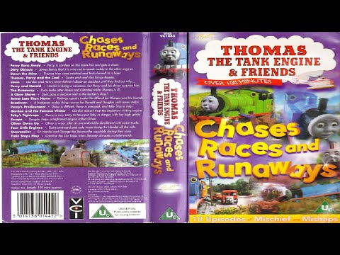 Thomas The Multi-Language Tank Engine - Chases, Races and Runaways