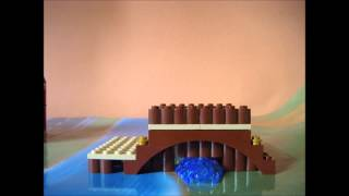 How To Build A Lego Japanese Series Bridge (by Ik Ben Ik)