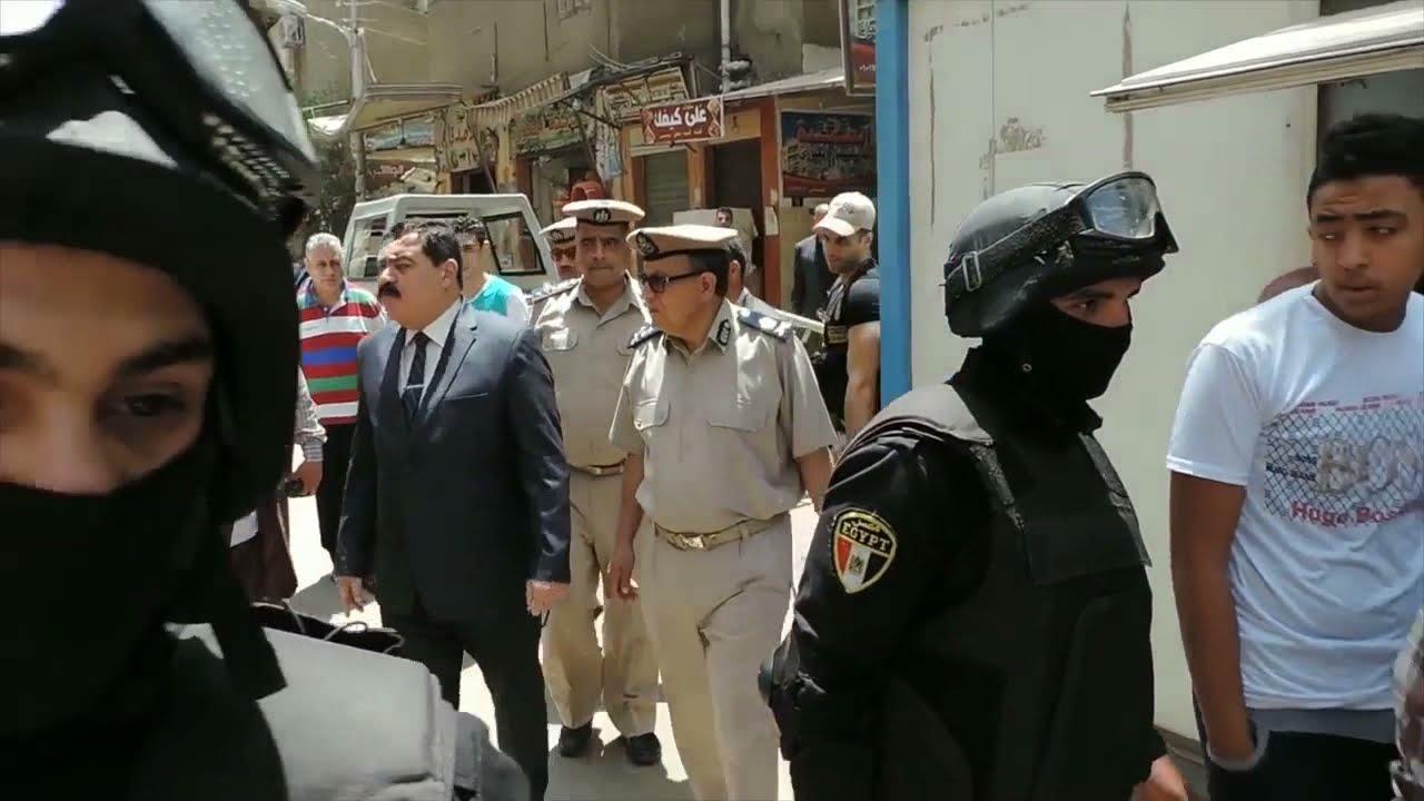 91b77d083b1bb جولة مفاجأة لمدير أمن الدقهلية على الاسواق بمدينة المنصورة - YouTube