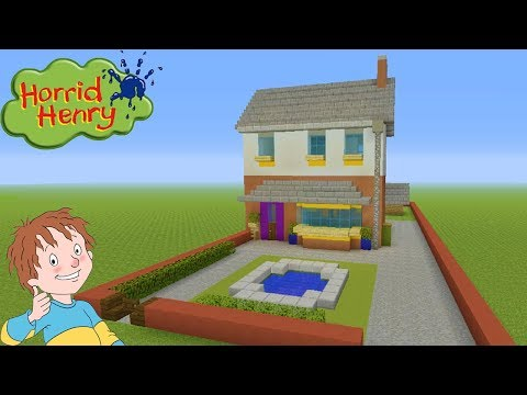 Minecraft Tutorial: How To Make Horrid Henrys House
