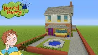 """Minecraft Tutorial: How To Make Horrid Henrys House """"Horrid Henry"""""""