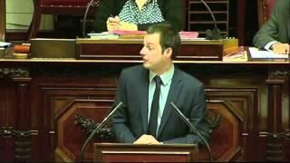 Bart De Wever was in de Senaat aan het debatteren over BHV.... maar die was gesloten!