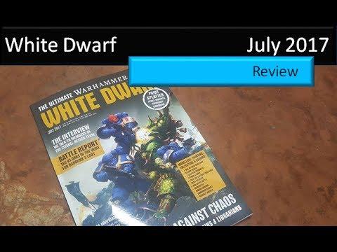 White Dwarf july 2017 review Warhammer 40k Primaris marines death guard 8th edition