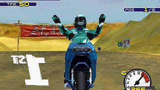 Moto Racer 2 (PS1) - Walkthrough #1