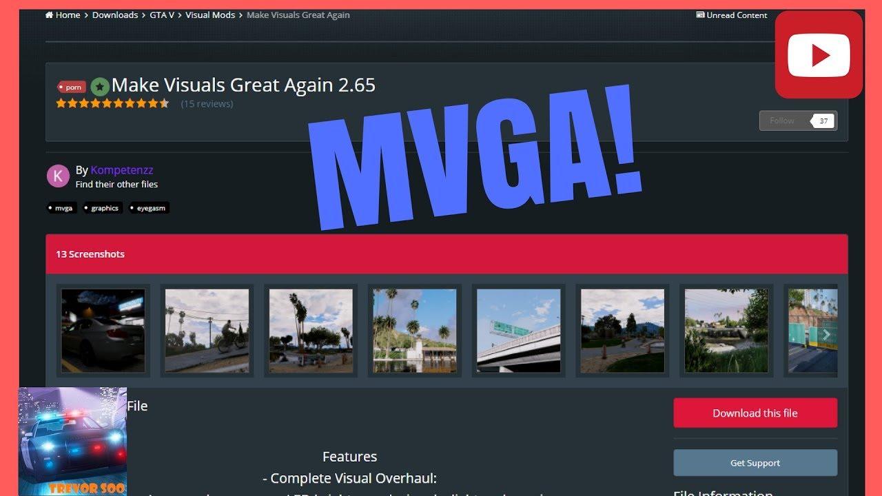 make visuals great again fivem