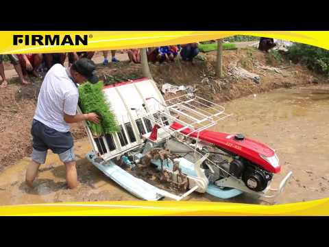 Mesin penanam padi / mesin tandur padi | Mekanisasi Pertanian Canggih di Indonesia