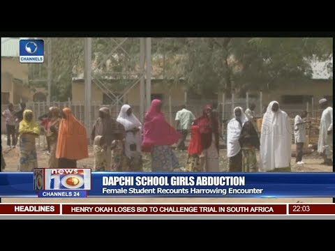 Dapchi Abduction: Female Student Recounts Harrowing Encounter thumbnail