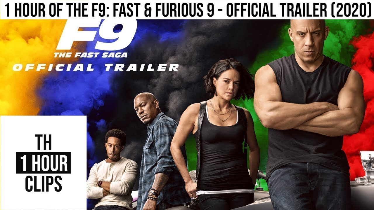 Download 1 Hour of the F9: Fast & Furious 9 - Official Trailer (2020)