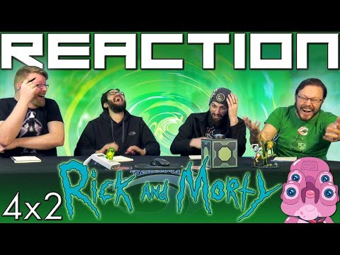 """Rick And Morty 4x2 REACTION!! """"The Old Man And The Seat"""""""