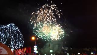 Праздничный салют Юбилейной даты 70-летия Победы Великой Отечественной Войны (г. Чебоксары)