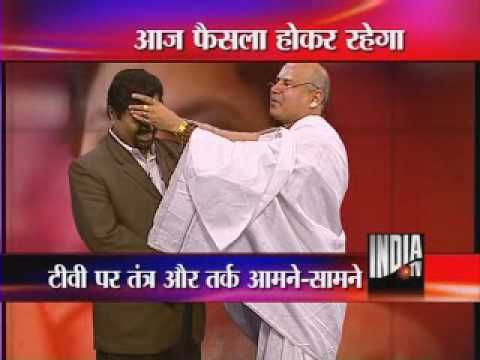 India TV Expose Of Guru's Stunt part 1