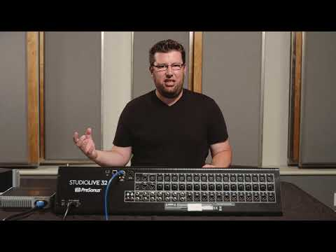 StudioLive for Marching Band: Settings for a Soloist