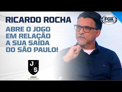 RICARDO ROCHA ABRE O JOGO EM RELAÇÃO A SUA SAÍDA DO SÃO PAULO!