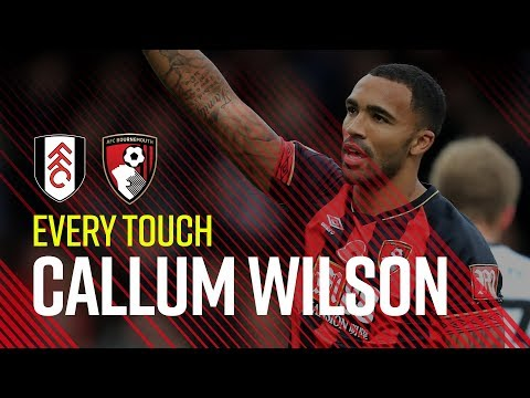 WILSON AT THE DOUBLE | Every touch in win at Fulham