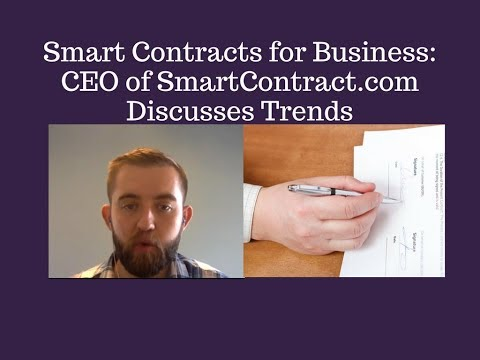 Smart Contracts in Business: Sergey Nazarov of SmartContract.com Shares