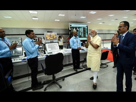 PM Narendra Modi Visit's Central Control Room of ONGC & Visi